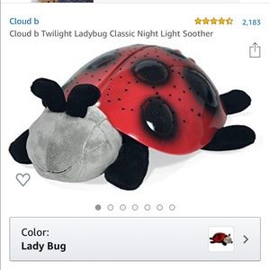 Cloud B Ladybug Nightlight